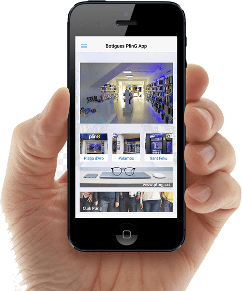 App | Pling Costa Brava